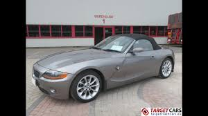 750379 bmw z4 roadster 2 5l e85 cabrio 192hp 09 04 grey 46633mil