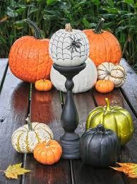 mini pumpkin carving ideas mini pumpkin decorating ideas modern rooms colorful design