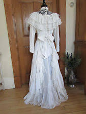polyester vintage wedding dresses u0026 veils for women ebay