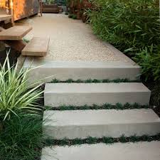 Concrete Ideas For Backyard Best 25 Exposed Aggregate Ideas On Pinterest Grass Driveway