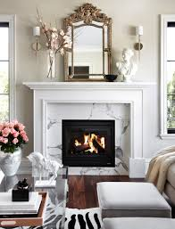 decor home ideas indoor white mantels fireplace decoration modern