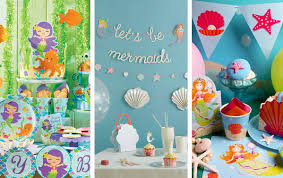 mermaid party supplies buy mermaid party supplies online at build a birthday nz