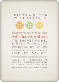 Babyshower Invitation Card Cute As A Button Baby Shower Invitations Theruntime Com
