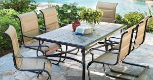 home depot patio table home depot spring black friday sale 7 piece patio set 299 mulch