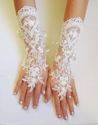 white fingerless wedding gloves tbrb info