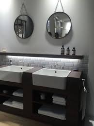 bathroom cabinets oval vanity mirror small round bathroom