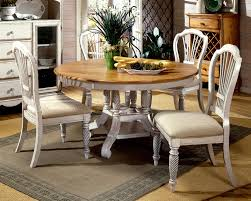 Round Table Pads For Dining Room Tables Attractive White Hardwood Dining Table Unique Centerpieces Modern