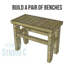free woodworking plans for a traditional colonial bench