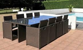 mobilier de jardin en solde solde table jardin l univers du jardin