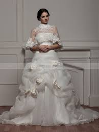 luxury wedding dresses opulent two beaded and floral satin luxury wedding dress