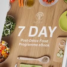 programme cuisine nosh detox 7 day post detox food programme ebook nosh detox