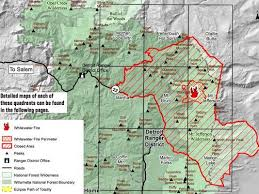 a map of oregon fires closes 117 000 acres at mount jefferson for 2017 solar eclipse