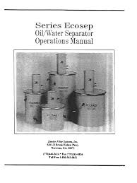 zander ows ecosep wt 5 10 20 30 manual filtration chemical