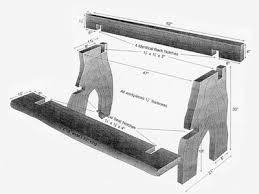 Garden Variety Outdoor Bench Plans by Best 25 Wooden Bench Plans Ideas On Pinterest Diy Bench Bench