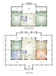 Home Floorplans Log Home And Log Cabin Floor Plan Details From Hochstetler Log Homes