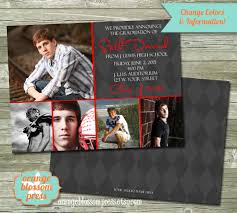 sided graduation announcements photo graduation announcement invitation photoshop template