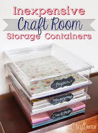 Organizing U0026 Storage Tips For by 25 Unique Scrap Paper Storage Ideas On Pinterest Scrapbook