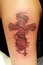 wooden cross tattoo by morobles on deviantart