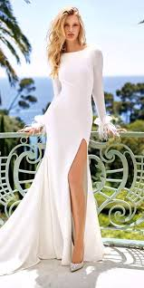 best wedding dress designers 206 best wedding gowns with high leg slits images on