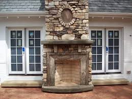 Unique And Beautiful Stone Fireplace by Innenarchitektur Unique Outdoor Stone Fireplace Kits Design