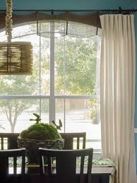 Drapes For Living Room Windows Diy Window Curtains From Canvas Or Dropcloth Diy Network Blog