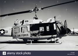 a side view of an air force hh 1h huey showing rotor shafts and