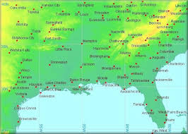 map of usa showing southern states us map with major cities major cities in the us maps of the