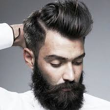 stylish s hairstyle with beard 2016 hairzstyle com