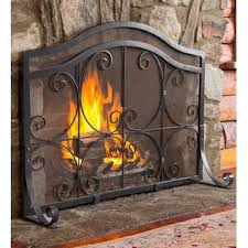 Free Standing Fireplace Screens by Free Standing Fireplace Screen Wayfair