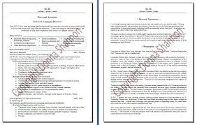 Hr Administrative Assistant Resume Sample by Personal Assistant Resume Templates