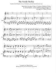 thanksgiving medley medley 97 free arrangements
