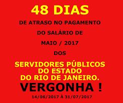 pagamento estado rj maio 2016 conexão servidor público julho 2017