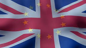 Union Flags The European Union Flag Superimposed On The British Flag