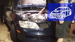 lancer fix 19 oil change new youtube