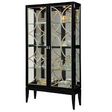 curio cabinet curionets metal glass silvermetal with doorsmetal