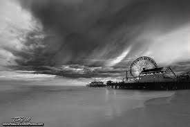 nature photos u2013 fine art nature photos santa monica pier black
