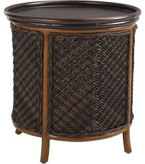 Outdoor Accent Table Tommy Bahama Island Estate Lanai Tray End Table Tropical