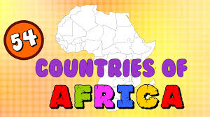 Map Of Africa With Country Names Countries Of Africa Learn The Countries Of The World Elearnin
