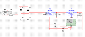 how to design a circuit which will give 12 volts dc 12 volts dc