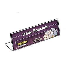 Buffet Sign Holders by Name Plate Holders