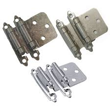 kitchen cabinets hinges amerock satin nickel selfclosing hinge