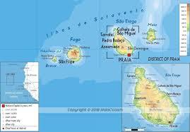 cape verde map world maps of maio cape verde map of ilha do maio cabo verde maps