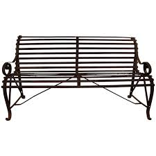 iron park benches antique french iron park bench for sale at 1stdibs