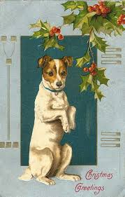 42 best cards christmas animals images on pinterest vintage