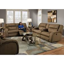 Reclining Sofa With Console by Southern Motion Sofas Maverick 550 28 109 18 Reclining Sofa With