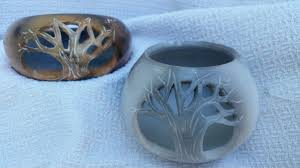Pit Fired Pottery by Small Pit Fired Pots Fat Robin Pottery