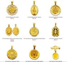 religious pendants patron saints medals religious jewelry as a gift idea at