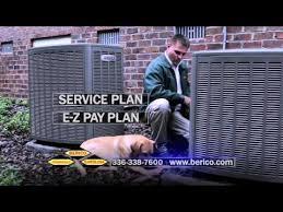 berico hvac tv commercial heating repair and service greensboro nc