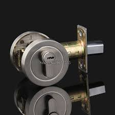 Interior Door Lock Key High Quality Zinc Alloy Deadbolt Security Door Lock With Key Safe