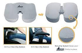 Desk Chair Seat Cushion by Amazon Com Premium Non Slip Therapeutic Grade Seat Cushion With